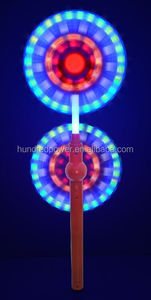 2015 Hot Selling 6 LED Double End Flashing Windmill for Kids