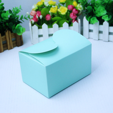 New blue cake box birthday product boxes packing gift packaging paper box