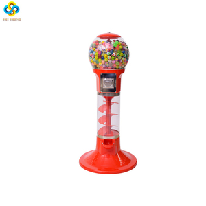 Factory cheapest price small spiral gumball vending machine