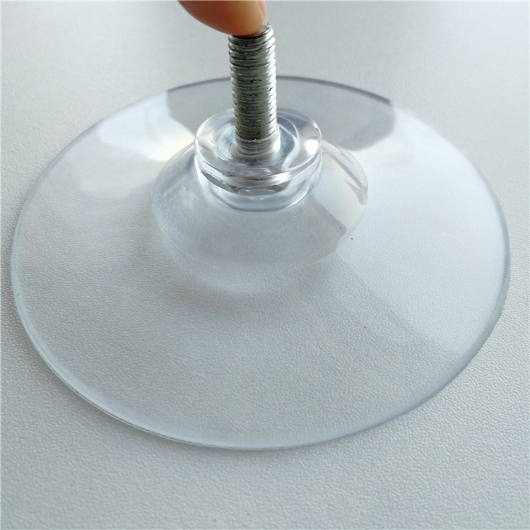 Custom Hot Sell Pvc Vacuum Suction Cups With Threaded