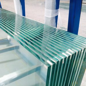 Extra clear tempered glass for handrail