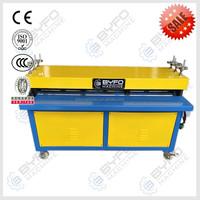 Nanjing Manufacturer metal sheet grooving machine,air duct making machine,China duct bead grooving machine