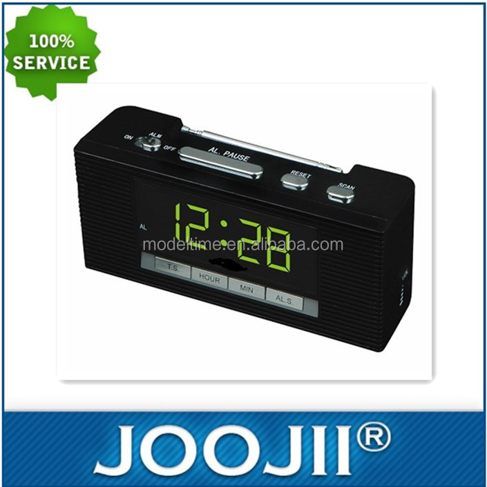 2019 New Cheap Led display Alarm Clock Radio