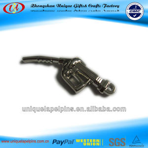 3d gas pump shaped new Keychain
