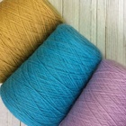 Solid dyed 100% Cotton Yarn Ne 24/1 Carded for Knitting machine use