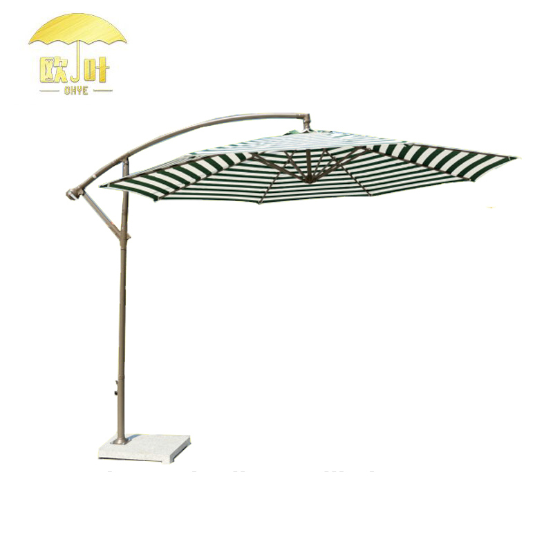 Low Price Banana Garden Hanging Umbrella High Quality Spring Water White Beach Umbrella
