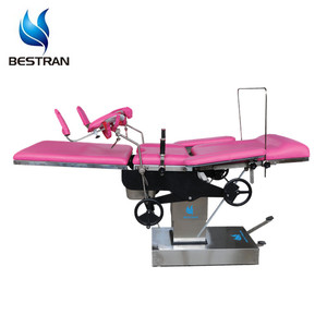 BT-OE014 Cheap manual hydraulic Obstetric surgical table bed/gynecological examination chair price