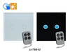 Smart home automation wifi control light touch light switch 2016 JJ-TSB-02