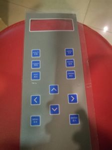 New design button embossed membrane keypad with 3M adhesive