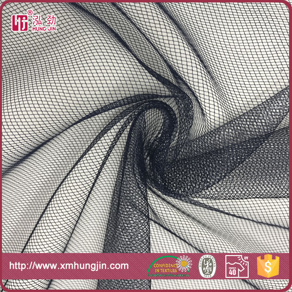 Warp knit 100%polyester American mesh fabric for dress