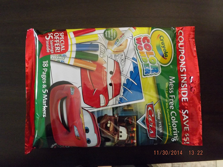 Buy Crayola Color Wonder Coloring Pad and Markers - Disney/pixar ...