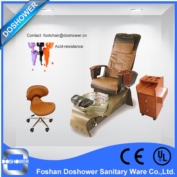 Wholesale DS W21 Luxury wooden style design pedicure foot spa