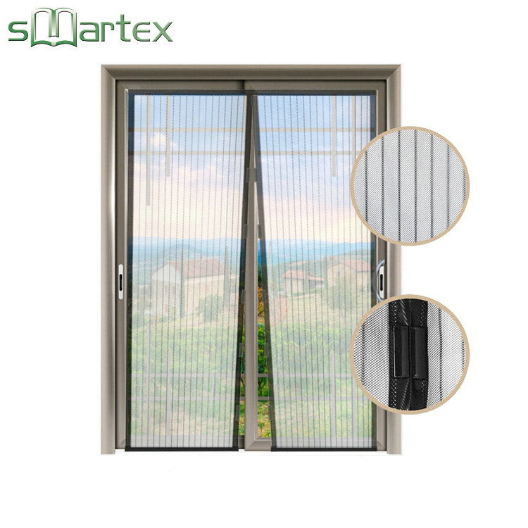 Mosquito nets insect screen mosquito door net customized hot selling 2017 diy magnetic screen door