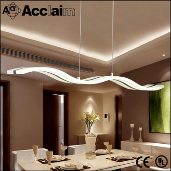 Modern Acrylic Chandelier Square Hanging Light Indoor Pendant Made In China For Living Room
