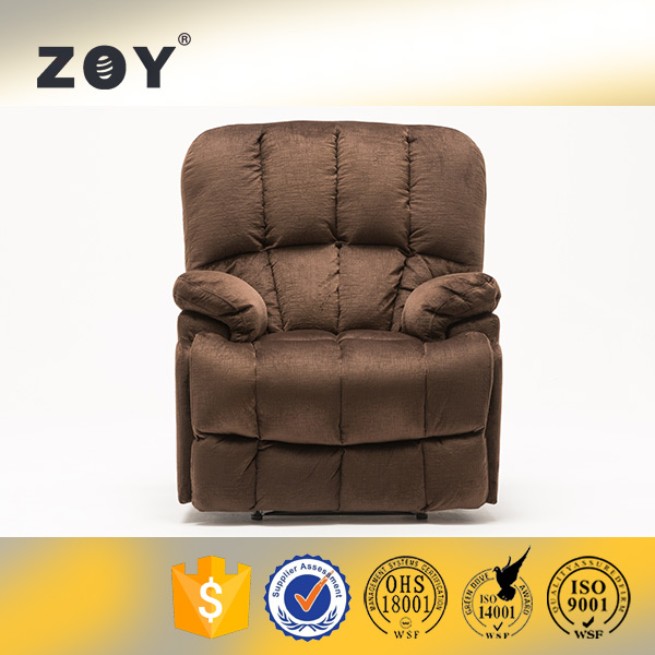 Fabric Swivel Recliner Sofa Chair Furniture ZOY