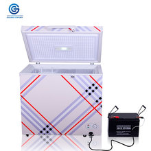 Solar powered DC 12V chest refrigerator freezer cooler 110L