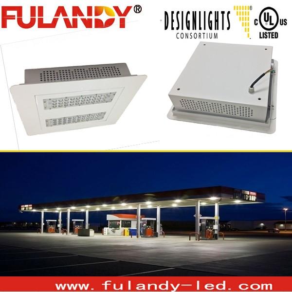 150w Led Gas Canopy Lights / 120w 12v Led Canopy Light Fixtures ...