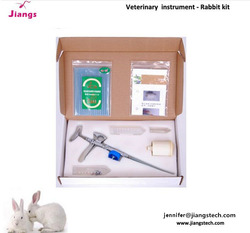 Rabbit artificial insemination gun insemination sheath for rabbit