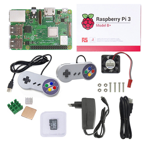 R10 Basic Raspberry Pi 3 Kit With TF Card Joystick Cooling Fan For  Raspberry Pi Game