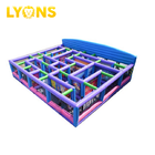 2018 Outdoor fun house inflatable maze blow up sport game maze