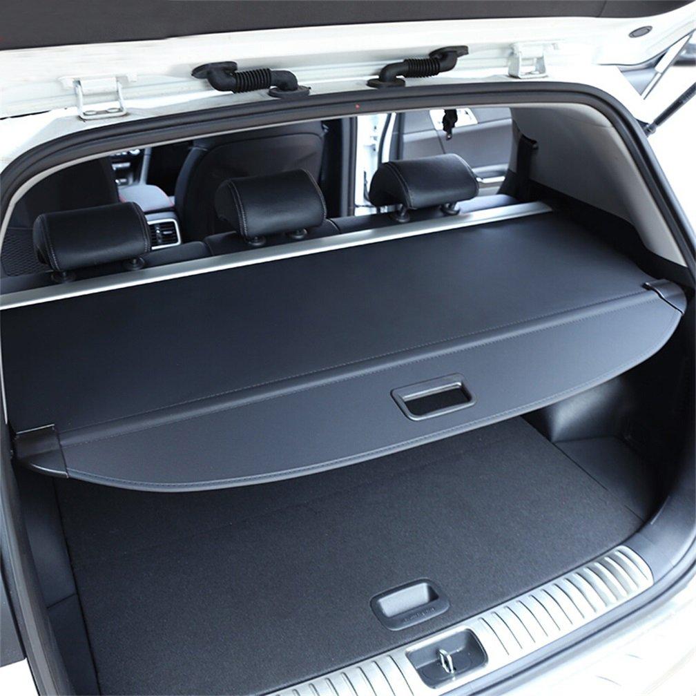 Get Quotations · Vesul Black Retractable Rear Trunk Cargo Luggage Security  Shade Cover Shield For Kia Sportage 2017