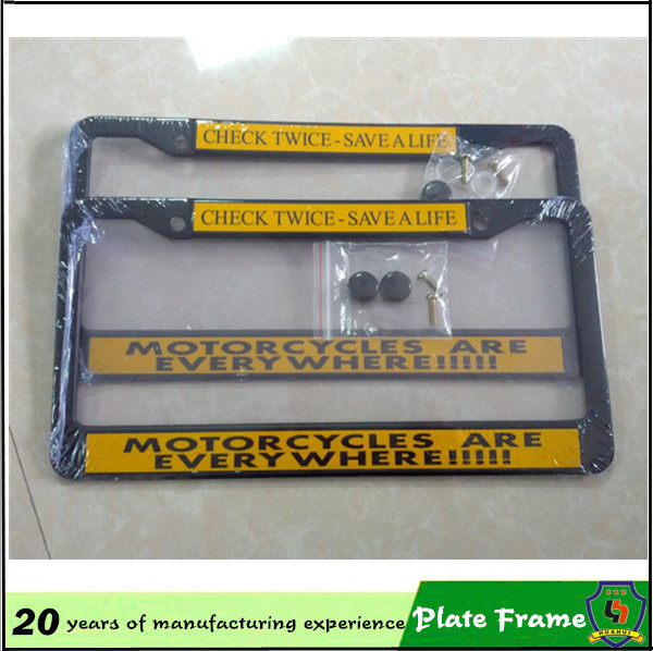 custom license plate frames wholesale custom license plate frames wholesale suppliers and manufacturers at alibabacom