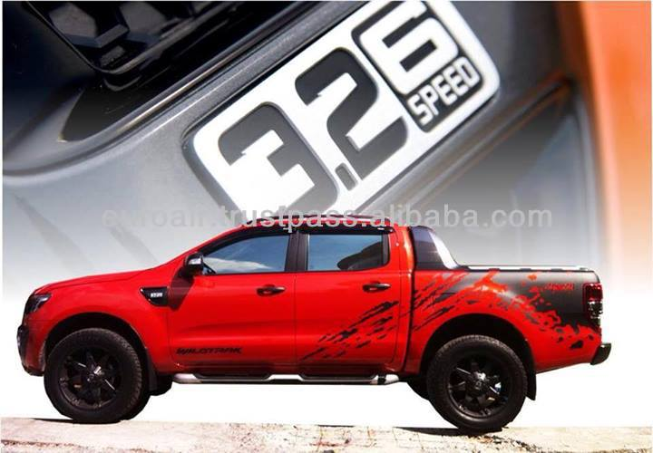 autocollant decal pour ford ranger t6 wildtrak pour raptor t150 look autres pi ces d tach s du. Black Bedroom Furniture Sets. Home Design Ideas