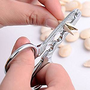 Stainless Steel Melon Seed Pliers Sunflower Seed Nut Pliers Scissor