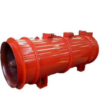 Axial flow fan used for underground coal mine work