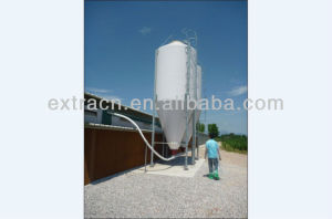 Fiberglass feed silo poultry farming equipment