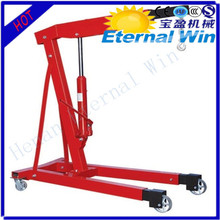 Small mobile shop crane hydraulic with ISO