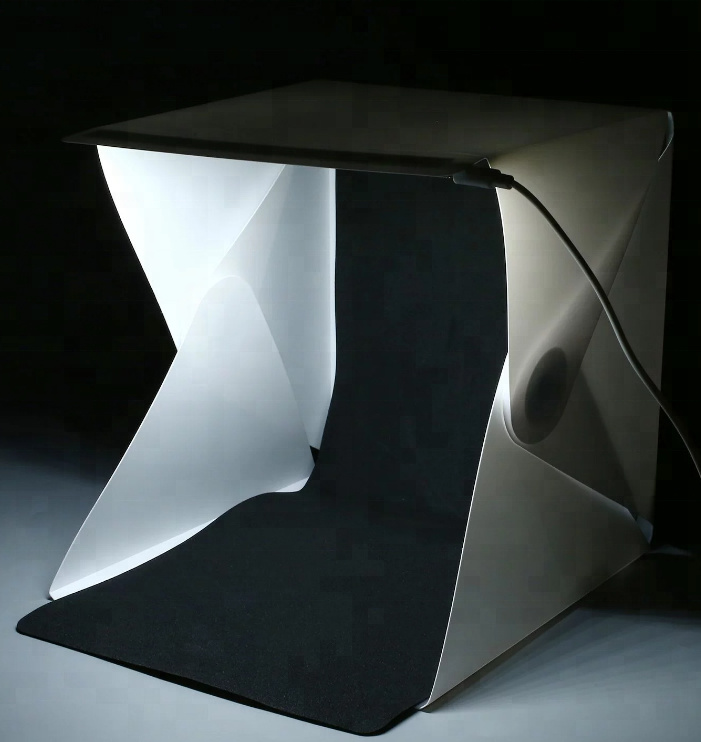 20cm Folding best photography studio led room lighting Portable LED Mini Photo studio