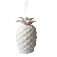 2018 new inventions unique pineapple shaped ceramic aroma diffuser