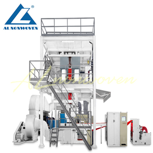 S PP Nonwoven Fabric Making Machine For Shopping Bag, Wall Paper, Clothes Cover