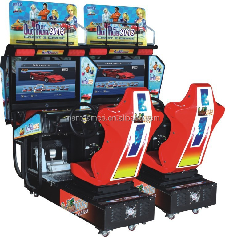 2 si ges 3d simulateur de voiture course arcade machine de jeu simulateur de course d 39 arcade jeu. Black Bedroom Furniture Sets. Home Design Ideas