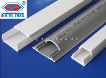 Rectangular Plastic Ducting Pvc For Cable Buy Pvc