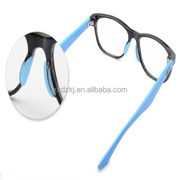 Soft And Comfortable Plastic Frame Glasses Silicone Nose Pads - Buy ...