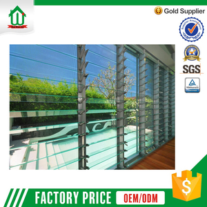High quality large fresh windows with glass shutters