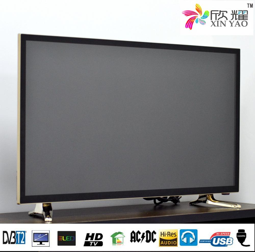 Chinese Factory Directly Supply Big Flat Screen Size Television, Red High Definition Set for Smart LED Television 40 42 50 inch