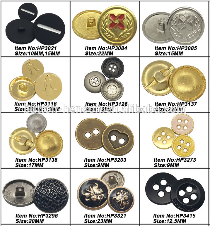 Foshan Hardware Children'S Golden Metal Covers Brass Shirt Leaf Lady Shiny Snap Button For Cloths