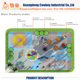 2018 newest sensory integration design outdoor playground equipment