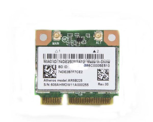 New Atheros AR5B225 WIFI Wireless Bluetooth BT 4 0 Half MINI PCI-E Card  150M Laptop Network Adapter