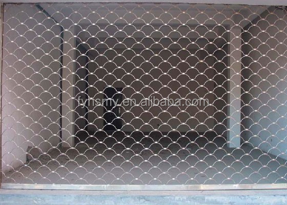China suppliers grill rolling shutters with stainless steel material
