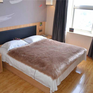 Sheepskin Bed Cover Sheepskin Bed Cover Suppliers And Manufacturers