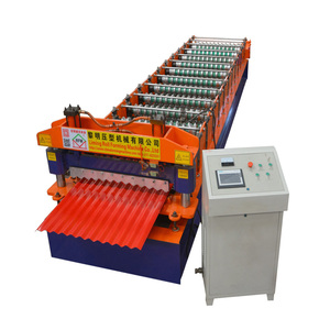 Automatic Colorful High Efficiency 1100 Roof Hanging Tile Making Forming Machine