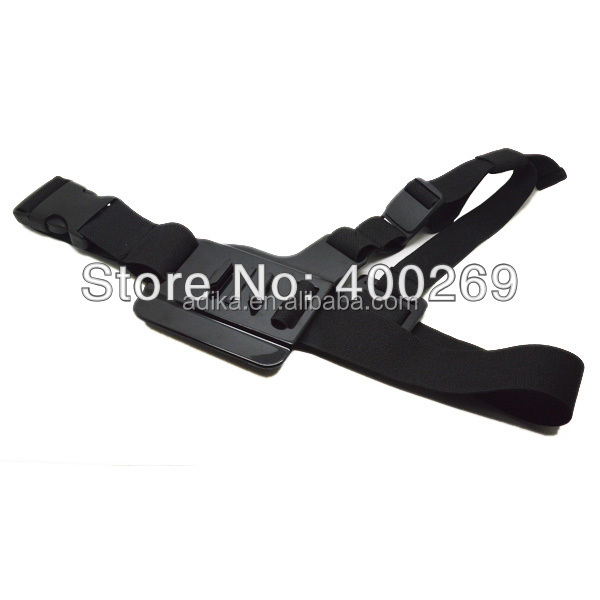 China Factory supplier retail/wholesaleopro Comfortable Light Weight 3 Points Chest Belt for Gopro Hero 3+/3/2/1 ADK-GP85