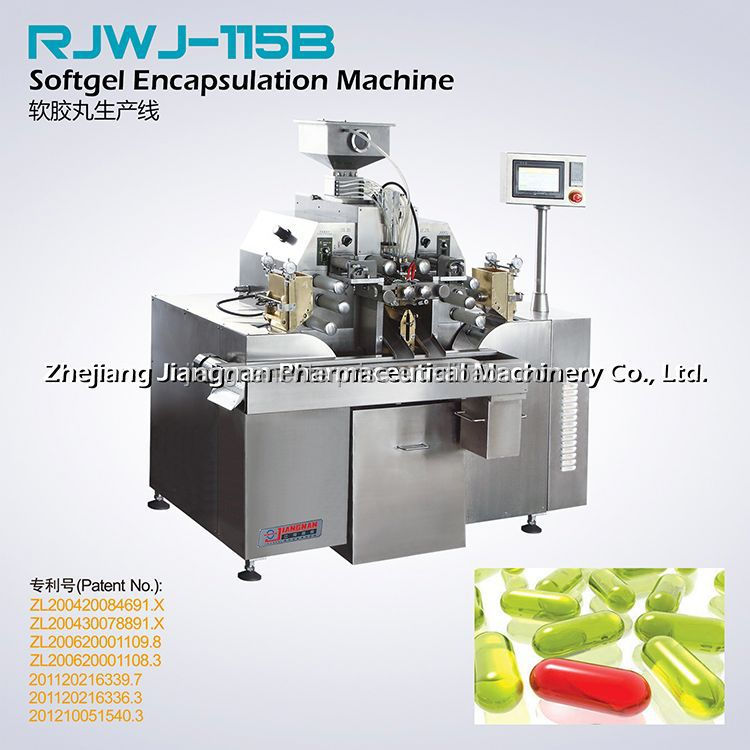 Professional Manufacturer Of Soft Gelatin Encapsulation Machine