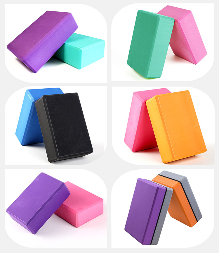 Yoga Block Manufacturer With Eva Material High Density Yoga Brick Exercise Buy Natural Rubber Yoga Block Yoga Blocks And Straps Yoga Brick Product On Alibaba Com