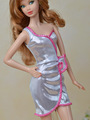 Original Bling Silver Formal Dress Pretty New Design Genuine Skirt Clothing Outfit Clothes For 1 6