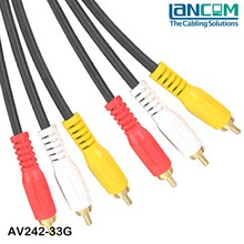 Lancom Fast delivery newest design promotion 3.5mm jack audio cable